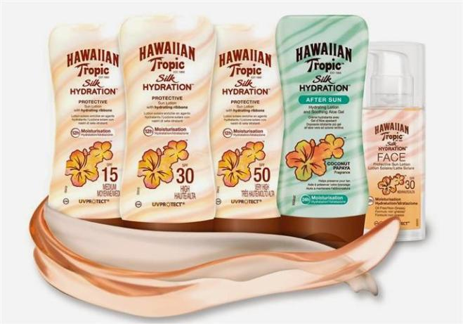 Hawaiian tropic gama